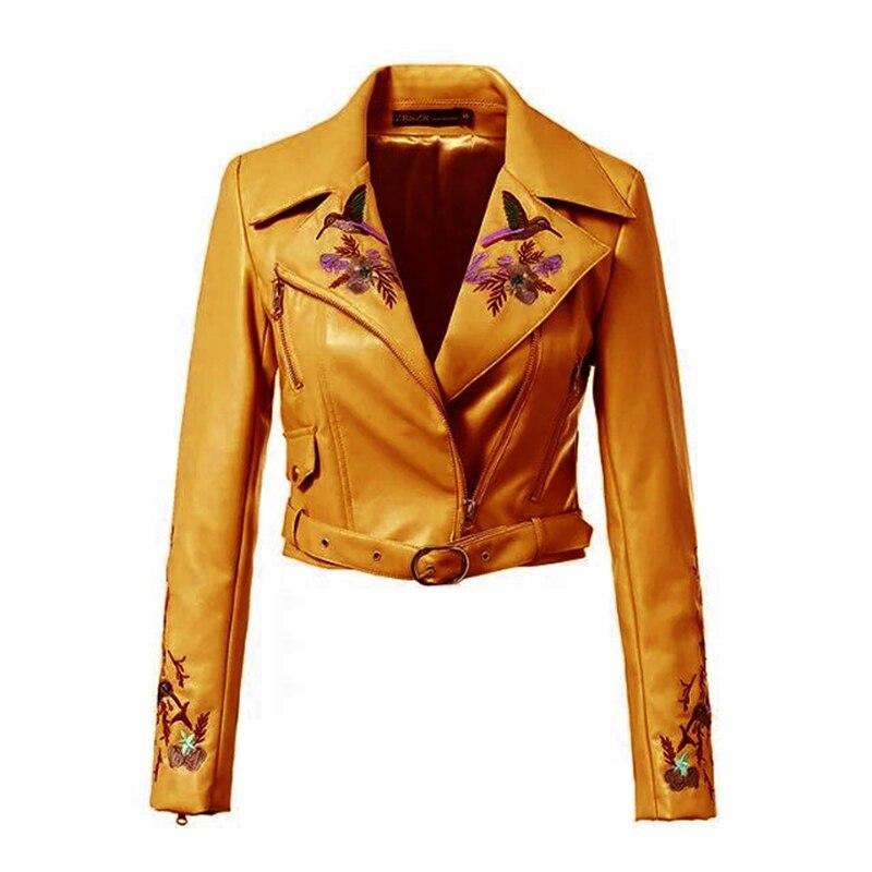 2019  Embroidery Bomber Basic Jackets Coat Autumn Casual Fashion Winter WomenChaqueta Mujer Jaqueta Feminina Casaco Feminino