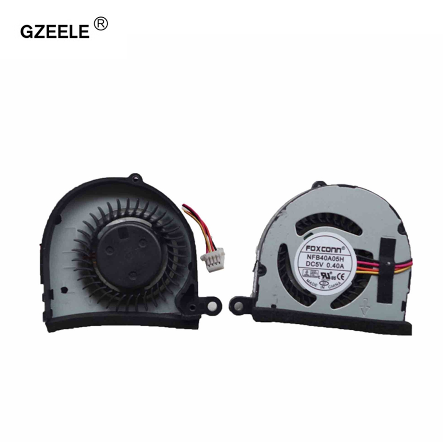 GZEELE CPU Cooling Fan cooler for ASUS Eee PC 1011 1015PW 1015P 1015PX 1015PE 1015PED 1011PX 1015BX 1011PX KSB0405HB -AF63 AB16 аккумулятор 4parts lpb 1015 black для asus eee pc 1015pe 1015ped 1015pn 1015pw 1015t 1015b 1016 1215n 1215p 1215t vx6 series 11 1v 4400mah