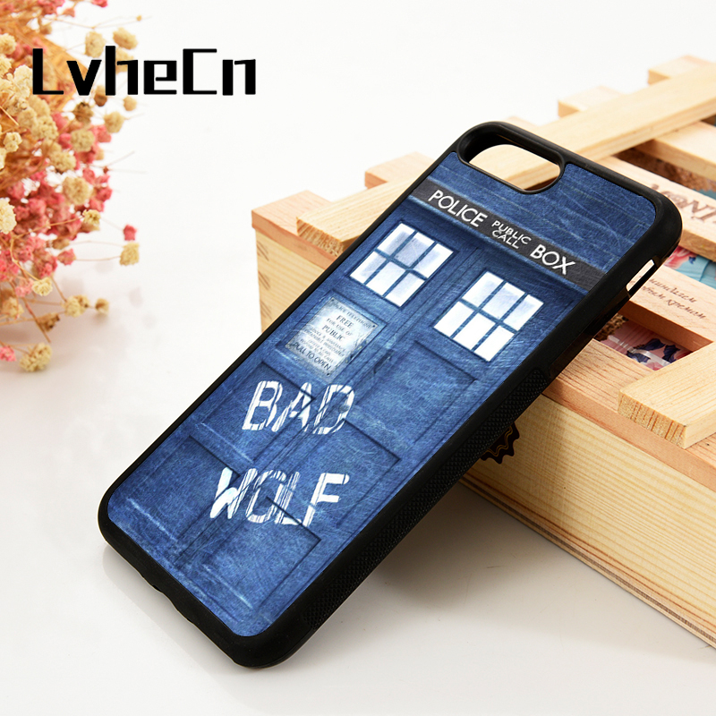 Who As Effectively As A Fairy Does Lvhecn 5 5s Se 6 6s Phone Cover Cases For Iphone 7 8 Plus X Xs Max Xr Soft Silicone Rubber Doctor Who Tardis Bad Wolf Dr Fitted Cases Phone Bags & Cases