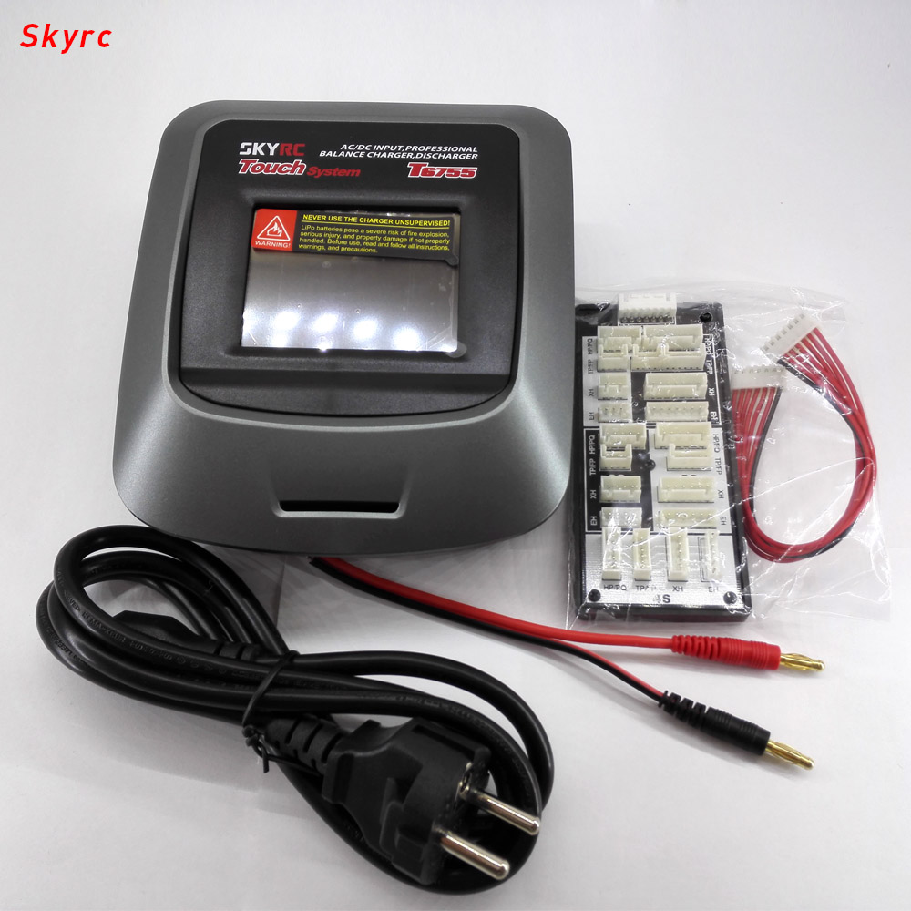 SKYRC rc lipo battery charger quadcopter car T6755 AC / DC input professional balance discharger parts