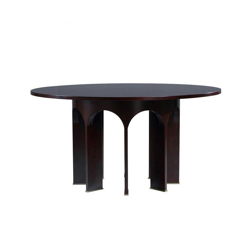 Высокое качество твердой древесины обеденный стол/Ресторан деревянный стол/отель спальня журнальный столик ...