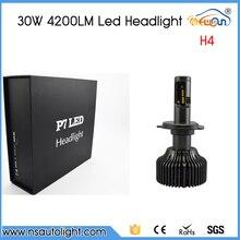 Free Shipping 2 x 30W 4200LM H4 LED Headlight Bulb LED Conversion Kit Hi Lo Replacement Bulb For Headlight FOG DRL