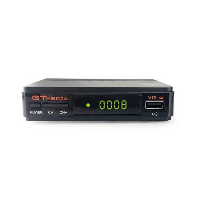 Free satellite tv decoder GtMedia V7s DVB S2 Receiver HD