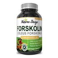 Forskolin Extract Fat Burning & Metabolism Boosting Weight Loss Supplement Natural Pills for Women & Men 60 pcs