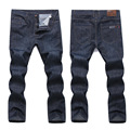 Hight Quality Dark Blue Men's jeans straight famous brand jeans Larg size 36-44 46 48 50 52 For All Season brand clothing
