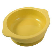 Mambobaby Baby Kids Silicone Sucker Bowl Dishes Slip-Resistant Tableware