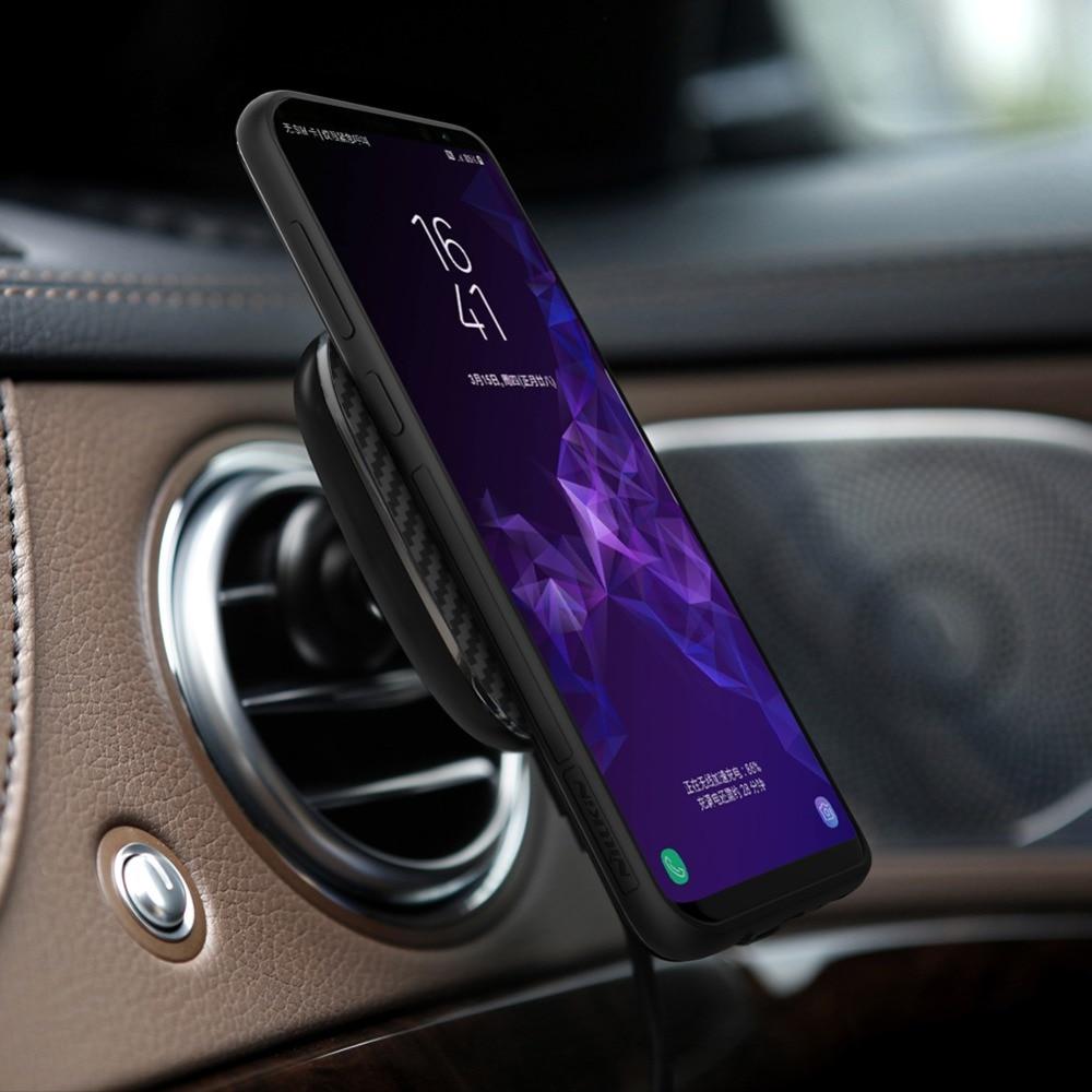 Snabb Qi trådlös billaddare för iPhone XS MAX XR X 8 Plus Nillkin - Reservdelar och tillbehör för mobiltelefoner - Foto 4