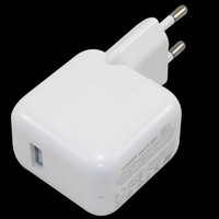 EU 12W White USB Power Adapter Wall Charger Replacement For IPhone 4 5 6 Apple IPad