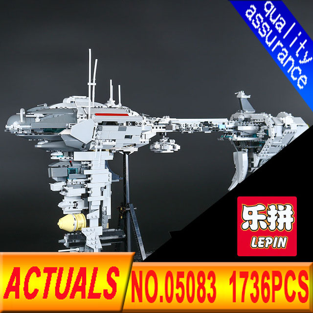 Lepin 05083 Series War 1736Pcs MOC The Nebulon Model B Set Medical Frigate Children Building Blocks Bricks Toys Gifts rollercoasters the war of the worlds