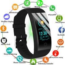 BANGWEI reloj Smar para hombre y mujer, monitor de ritmo cardíaco y presión arterial, monitor electrónico de sueño para estudiante, natación, 2020