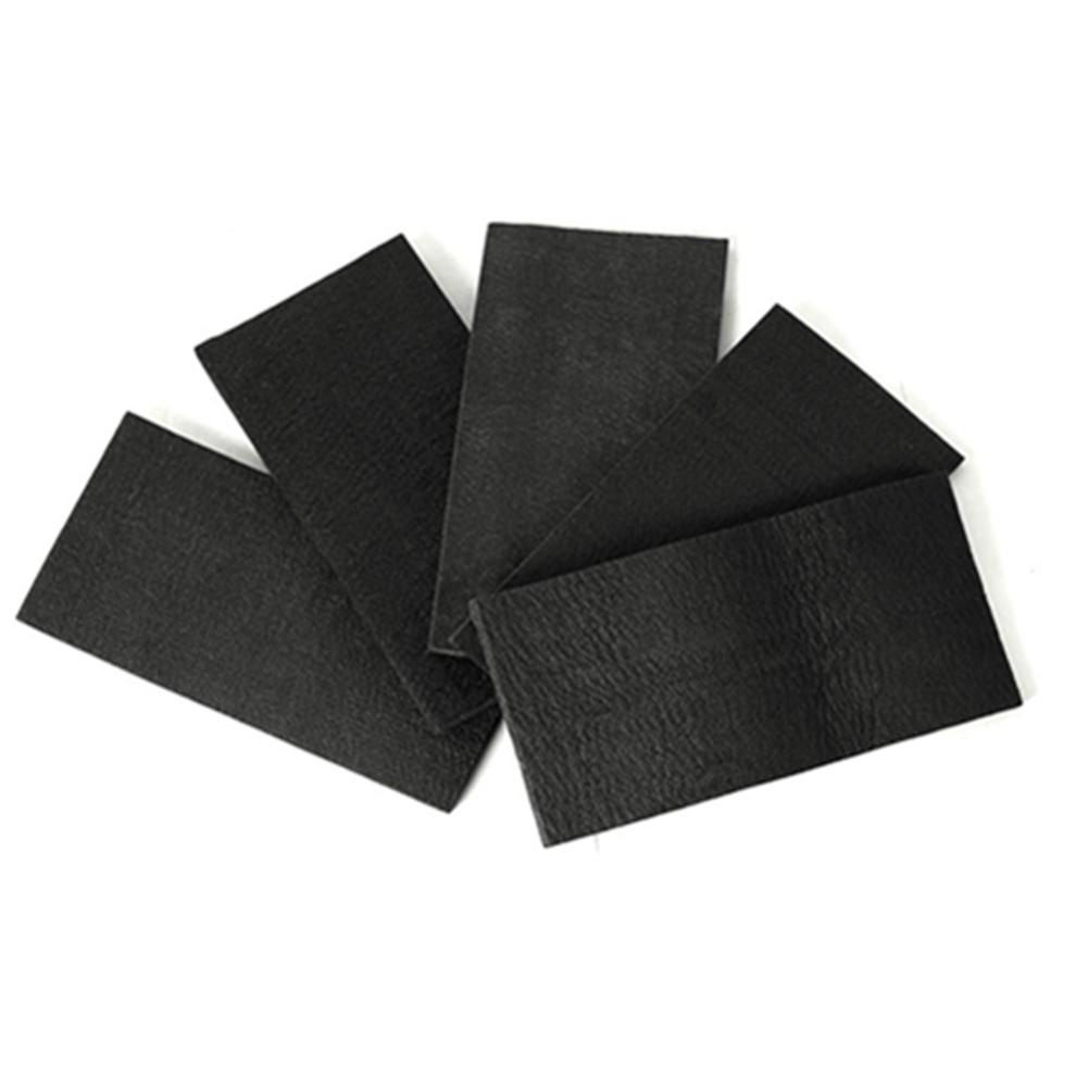 2PCS Soft Graphite Carbon Felt High Temperature Resistant Soft Graphite Felt Carbon Fiber For Contamination Adsorption Cleaning