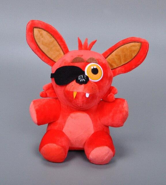 """Big Size 10"""" Five Nights At Freddy's 4 FNAF Freddy Fazbear Bear Fox Rabbit Duck Plush Toys Doll Fnaf Foxy Toys"""