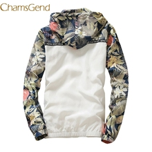 floral white women jacket winter warm bomber jacket MT