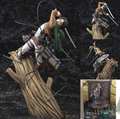 Атаки на титане фигура игрушки леви Rivaille 1/8 масштаб атаку пвх фигурку Shingeki нет Kyojin фигуры коллекционные игрушки