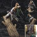 Ataque em Titan figura brinquedos ataque Titan Levi Rivaille 1/8 Scale ação Pvc figura Shingeki no Kyojin figura coleção brinquedos