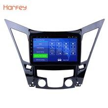 Harfey Car GPS Navigation Radio Multimedia Player For 2011 2012 2013 2014 2015 HYUNDAI Sonata i40 i45 With Quad-core Bluetooth
