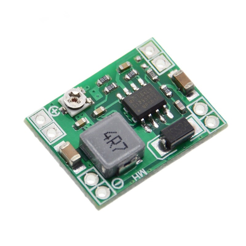 100PCS Ultra Small Size DC DC Step Down Power Supply Module 3A Adjustable Buck Converter for
