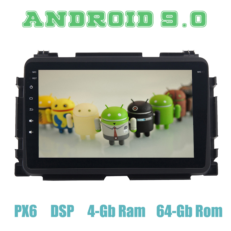 PX6 Android 9.0 Car <font><b>GPS</b></font> Radio Multimedia for <font><b>honda</b></font> Vezel <font><b>HRV</b></font> HR-V 2014 2015 2016 2017 2018 with wifi usb DSP 4+64GB Auto Stereo image