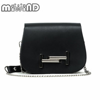 2017 MIWIND T Style Metal Maganetic Handbags Women Bags Designer Crossbody Bags Handbag Purse Sling Shoulder