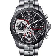 Marque de luxe montres hommes 2016 de mode élégante chaude sport minuterie hommes de quartz montre-bracelet étanche 100 m CASIMA #8303