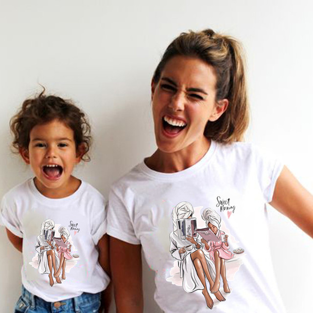 Family Matching Shirt Short...