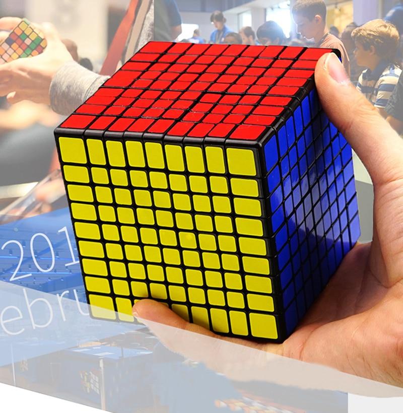 Nouveau ShengShou 9x9x9 Puzzle Cube professionnel PVC & mat autocollants Cubo Magico Puzzle vitesse classique jouets pour enfants adulte cadeau
