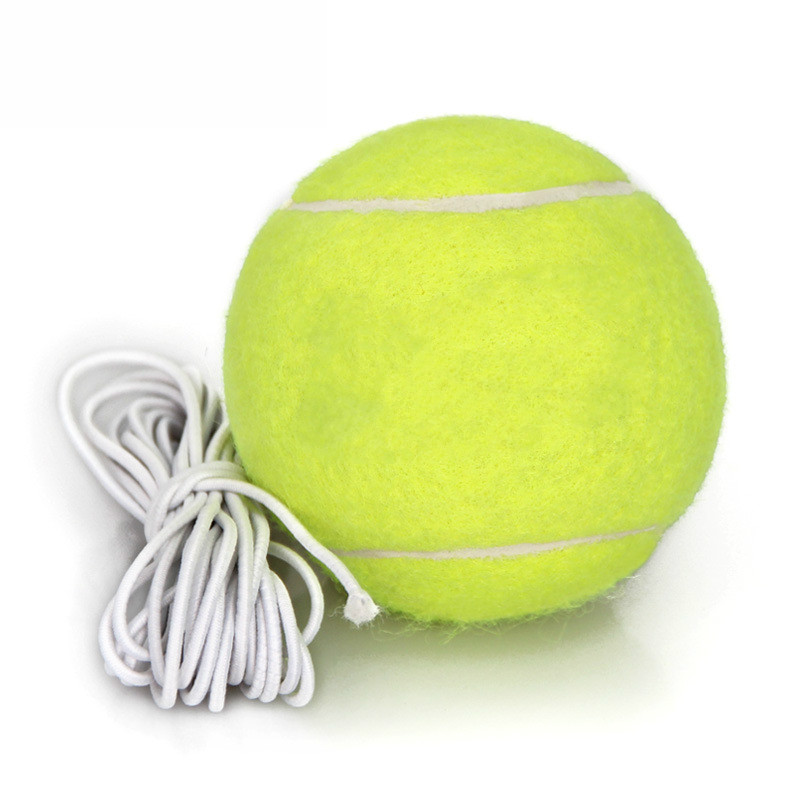 Training Rope Tennis Belt Rope Elementary Leather Band Tennis Single Player Training Ball