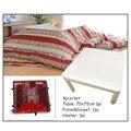 (4 Teile/satz) Moderne Japanischen Stil Möbel Kotatsu Set Tisch Futon  Teppich Heizung