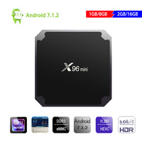 Original X96 Mini Amlogic S905W Android 7 1 Smart Tv Box 1G 8G 2G 16G Quad