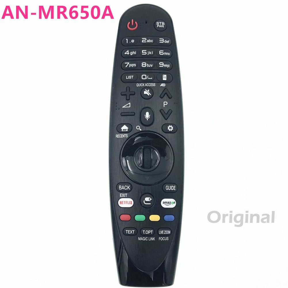 AN MR650A magia pilot zdalnego sterowania dla LG SMART TV W7, G7, E7, C7, B7, B7ASJ9570, SJ9500, SJ8570, SJ857A, SJ8500, SJ850A 49UK6200PLA w Piloty zdalnego sterowania od Elektronika użytkowa na AliExpress - 11.11_Double 11Singles' Day 1
