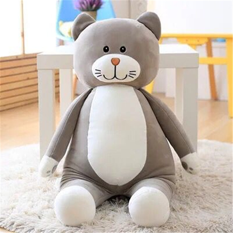 Free Shipping 60cm  plush stuffed soft Big Monkey CAT Plush Gorilla  Plush Toys A birthday present   Children's toys lps pet shop toys rare black little cat blue eyes animal models patrulla canina action figures kids toys gift cat free shipping