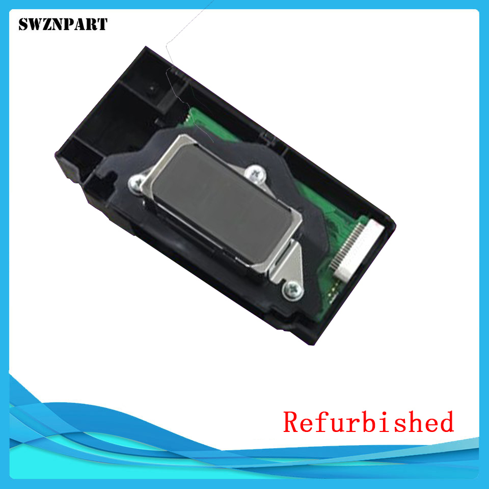 Refurbished Printhead Print head for EPSON 9600 7600 2100 2200 R2100 R2200 F138050 F138040-in Printer Parts from Computer & Office