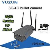 1080P Wireless IP Camera Bullet Camera Surveillance Outdoor Waterproof P2P Home Security Camera Night Vision DHL