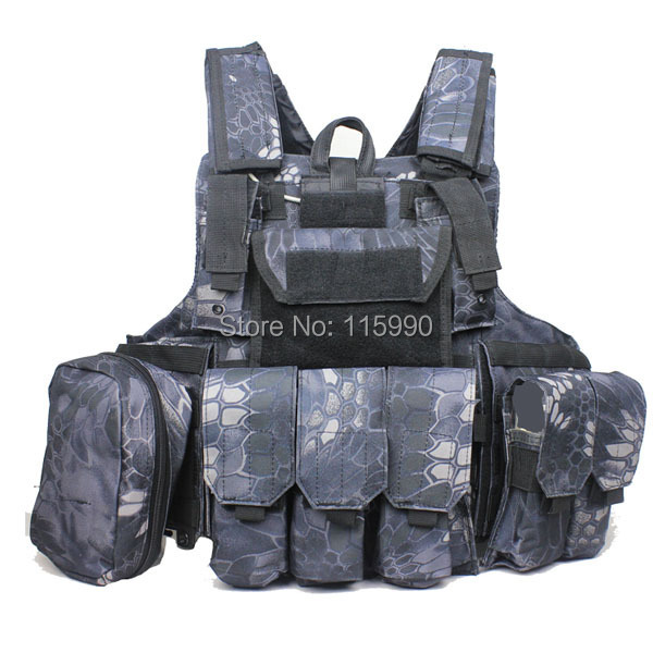 2015 Kryptek camo CIRAS MAR tactical Vest Airsoft military molle plate carrier vest
