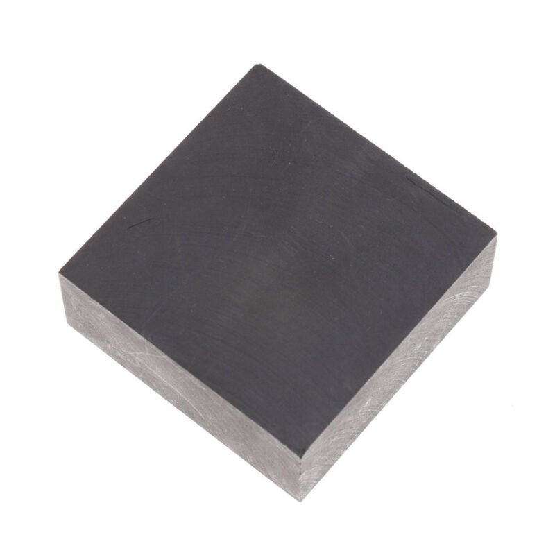 High Purity 99.9% Fine Grain Graphite Ingot Blank Block Sheet 50mmX50mmX20mm