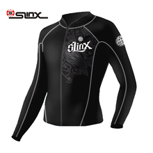 SLINX 2mm neoprene wetsuit jacket for men diving snorkeling dragon jacket swimming surfing top clothes