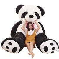 Мягкие и плюшевые Животные гигантский Oversize панда кожи 260 см пустой плюшевый медведь панда куклы ткань кожи Плюшевые игрушки аксессуары плюш