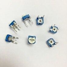 500 шт. RM065 200 K ohm 204 отделка горшок подстроечный потенциометр