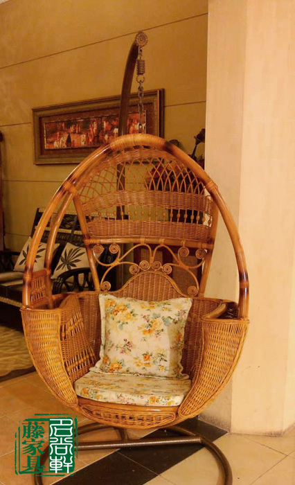 Awesome Natural Rattan Basket Rattan Swing Hanging Chair Indoor Spiritservingveterans Wood Chair Design Ideas Spiritservingveteransorg