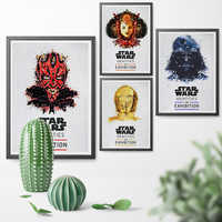 Star Wars Identities Exhibition Role Print Art Poster Canvas Painting Poster And Print Wall Art Home Decor