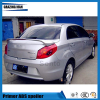 Hot Sale ABS Primer Unpainted Color Rear Trunk Spoiler Fit For Chery Fulwin 2 sedan / Storm 2 / Very / A13 / Celer