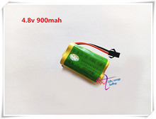 Liter energy battery 4.8v 900mah Rechargeable ni-cd aa battery pack 4.8v 900mah for RC boat model car toy