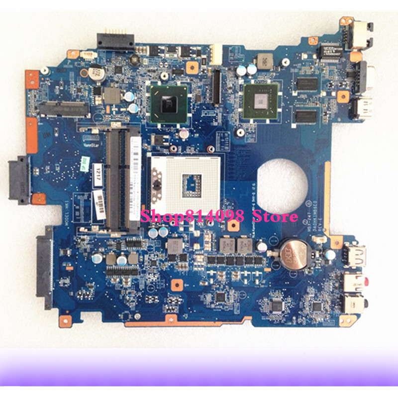 цены Full tested For Sony Vaio VPCEH Laptop Motherboard MBX-247 DA0HK1MB6E0 A1827702A Rev: E