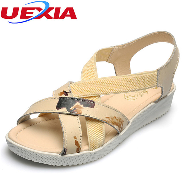 7fb8bd1897a6a7 Brand women sandals female handmade beach quality design leather women s  comfortable shoes sandal gladiator summer shoes classic