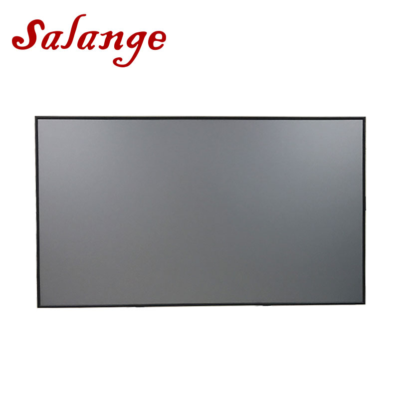 Salange Reflektierende Stoff Projektor Bildschirm 60 72 100 120 zoll 16:9 4:3 Für XGIMI H2 Z6 UC46 UC40 YG400 JMGO projektor Proyector
