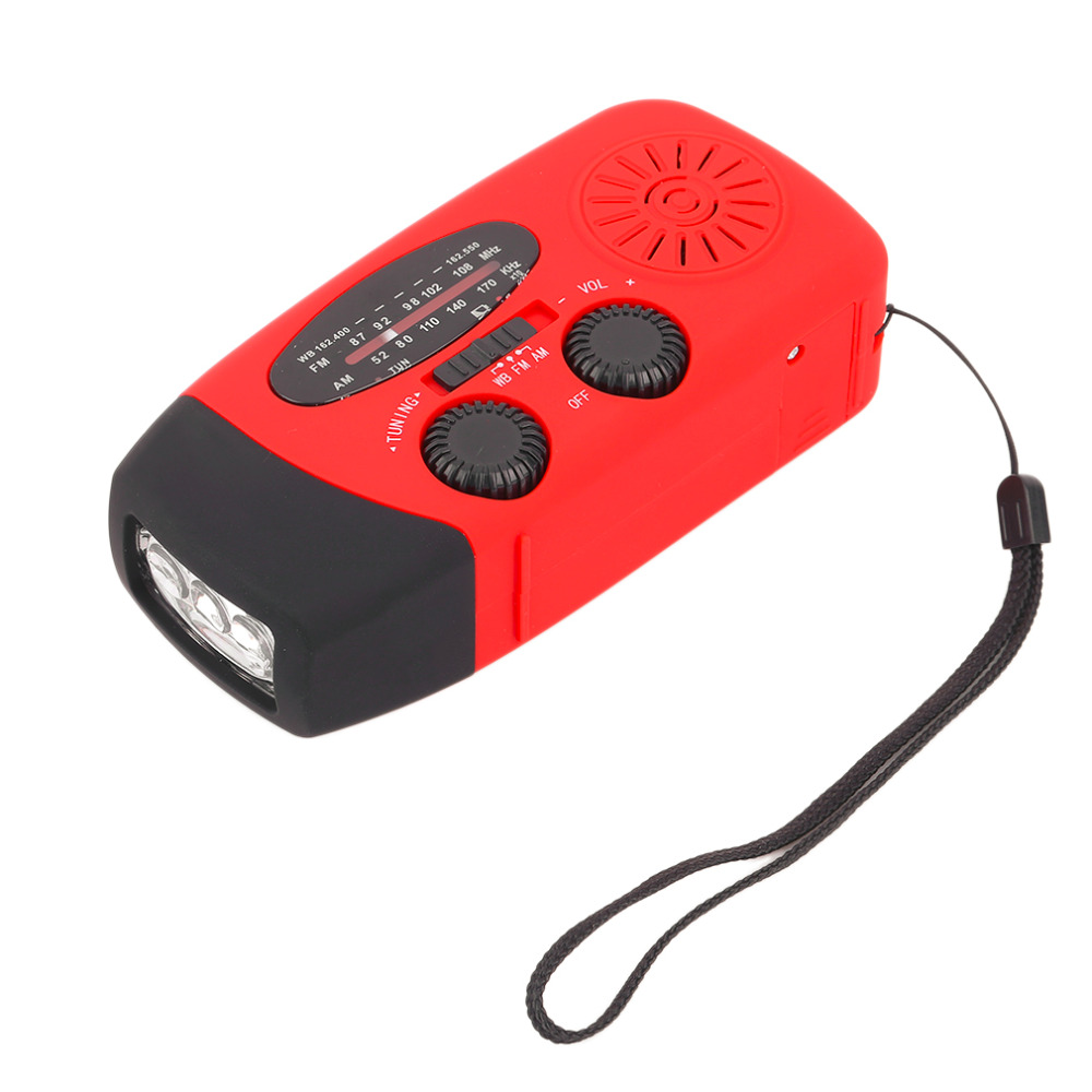 3 in1 Emergency Charger Hand Crank Generator Wind/solar light/Dynamo Powered FM/AM Radio,Phones Chargers LED Flashlight Hot Sale smuxi outdoor emergency hand crank solar dynamo radio portable am fm radios phone charger with 13 led flashlight emergency lamp