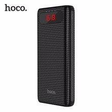 HOCO B20A Universel 20000 mAh Double USB Power Bank 18650 Batterie Portable Chargeur Externe Batterie Banque pour Téléphones