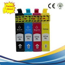 4 Compatible Ink Cartridge For EPSON Stylus SX210 SX215 SX218 SX-210 SX-215 SX-218 Inkjet Printer цены