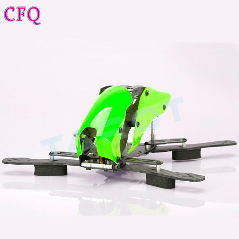 Ormino Fpv quadrirotor cadre Kit Tarot 250 demi Fiber de carbone Mini Drone cadre Quadrocopter cadre Qav250