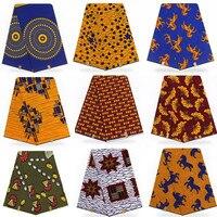 High quality African real Hollandai' wax 6 yards/lot guaranteed dutch wax African Hollandai' !T101301